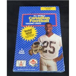 1991 Premiere Edition All World Canadian Football