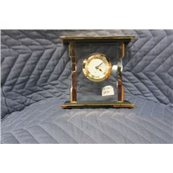 NEW BRASS MINI MANTLE CLOCK