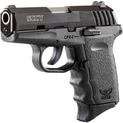 SCCY CPX2-CB PISTOL DAO 9MM 10RD