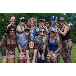 She Hunts Skills Camp for 1 Adult Female in Texas on June 21-25, 2018.
