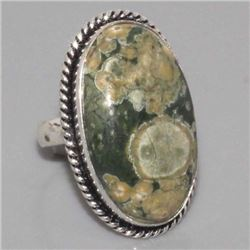 Rhyolite Sterling Ring Size 7