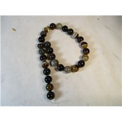 Natural Brown Lace Botswana Agate Bead Strand
