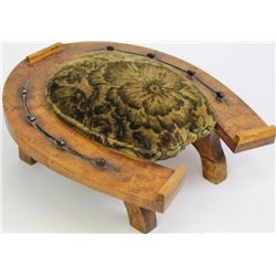 Victorian cattle baron period footstool