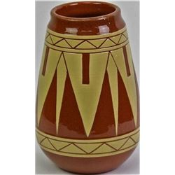 Unusually large Pine Ridge pottery vase