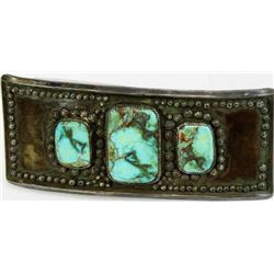 Exceptional early pawn Navajo buckle