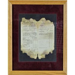Earp signed execution for jodgement document