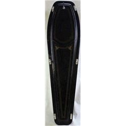 Antique Fraternal organization C. 1890's coffin,