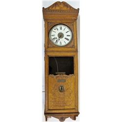 Scarce Homestake Office Bundy Time Recorder clock