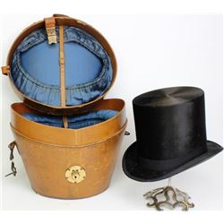 Fine 19th century felt top hat