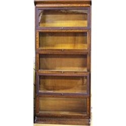 Antique stacking barristers bookcase