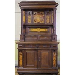 Fine antique sideboard hutch