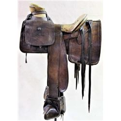 Early Mexican saddle