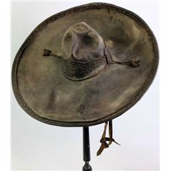 Early Mexican felt sombrero