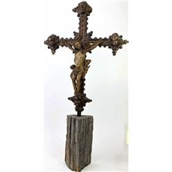 16th-17th century Crucifix with Jesus