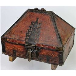 17th century Alms or tithing box