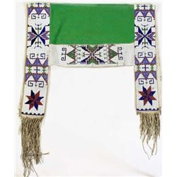C. 1890s-1900 Sioux beaded saddle blanket