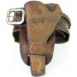 G.H. and J.S. Collins Omaha Neb stamped holster