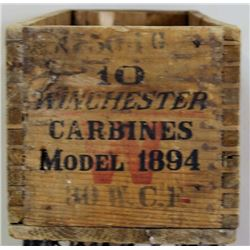 Original Winchester shipping crate