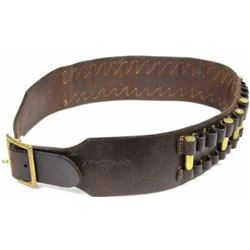 George Lawrence stamped leather cartridge belt