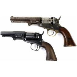 Collection of 2 antique revolvers