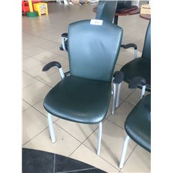 GLOBAL LEATHER MID BACK CLIENT CHAIR