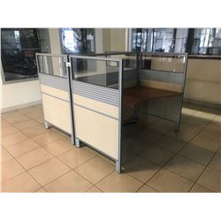 2 PERSON SALES CUBICLE