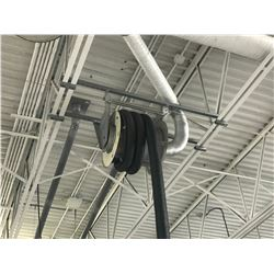 NEDERMAN RETRACTABLE CEILING MOUNT SHOP EXHAUST SYSTEM