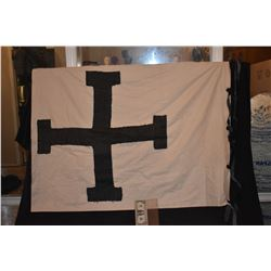 ZZ-CLEARANCE SEASON OF THE WITCH TEUTONIC KNIGHT WAR BANNER MEDIEVEL TIMES