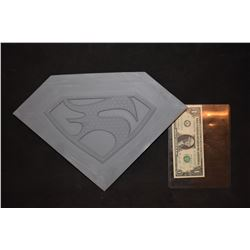 SUPERMAN OF METAL ALLOY FAORA GLYPH MASTER THAT HERO MOLDS WERE MADE FROM