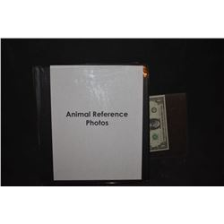 ZZ-CLEARANCE ANIMAL REFERENCE PHOTO BOOK