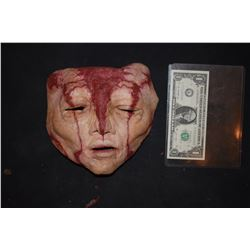 GRIMM SCREEN USED BLOODY ALIEN CREATURE MASK