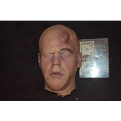 PHILIP SEYMOUR HOFFMAN SILICONE HEAD WITH BRUISES UNFINISHED