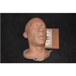 SEVERED SILICONE UNPAINTED HEAD