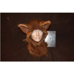 GRIMM SCREEN USED WEREWOLF BEAST CREATURE COWL WITH EARS 3