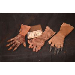 GRIMM SCREEN USED CREATURE ARMS LOT OF 3 SINGLES