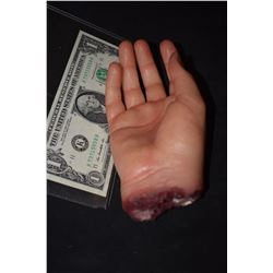 SEVERED SILICONE HAND 2