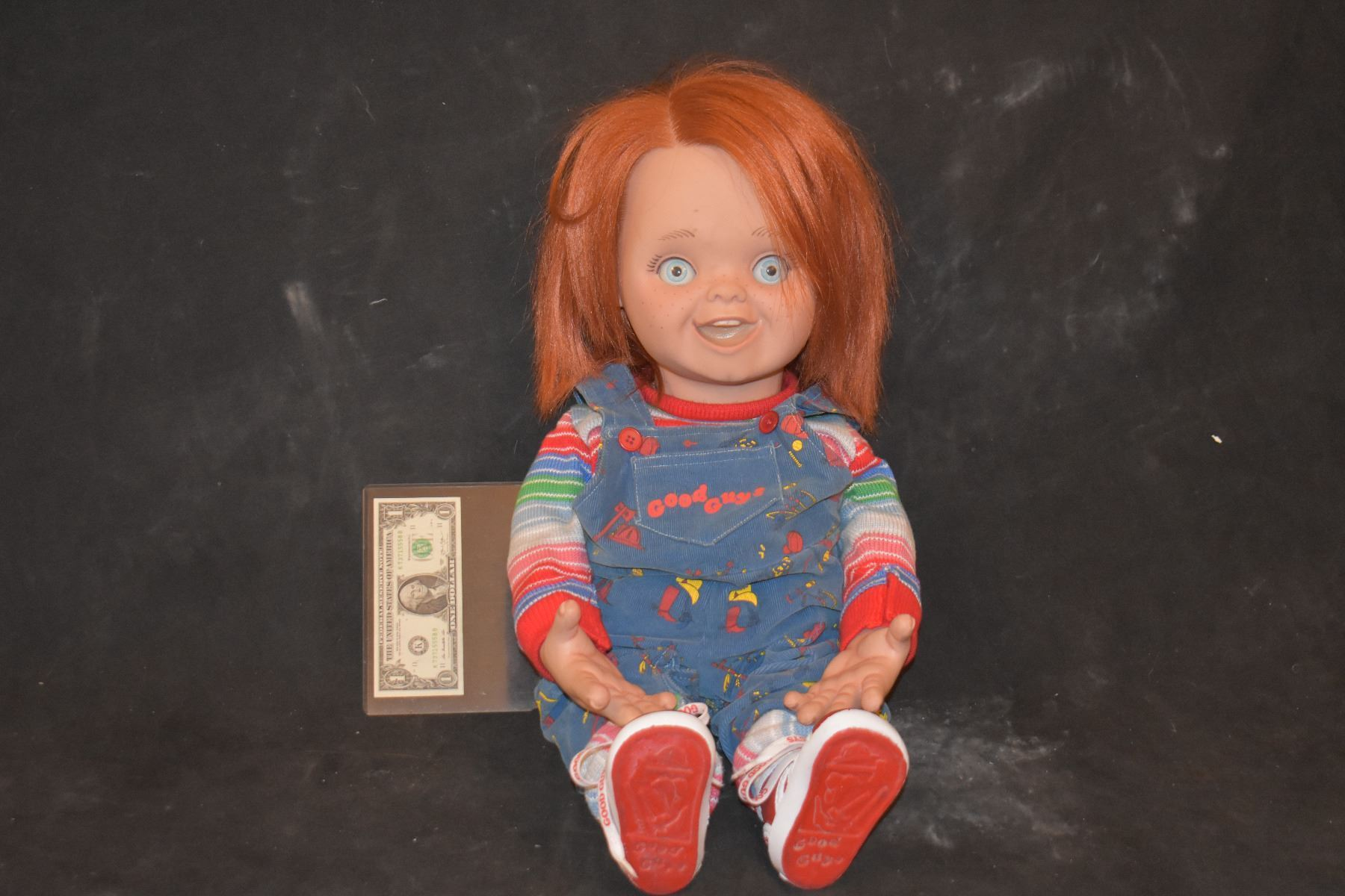 Image 1 CURSE OF CHUCKY SCREEN MATCHED COMPLETE ANIMATRONIC GOOD GUY PUPPET A TRUE MODERN