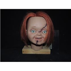 CURSE OF CHUCKY SCREEN USED & MATCHED REVEAL HEAD FROM ATTIC SCENE