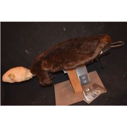 ZOMBEAVERS SCREEN USED HERO SWIMMING BEAVER ANIMATRONIC