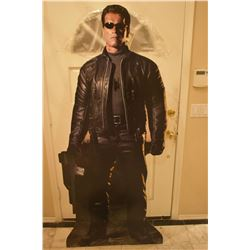 ZZ-CLEARANCE TERMINATOR 3 RISE OF THE MACHINES ARNOLD SCHWARZENEGGER THEATER STANDEE