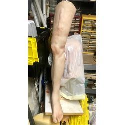 90 MINUTES IN HEAVEN SCREEN USED HAYDEN CHRISTENSEN SILICONE HEALED LEG