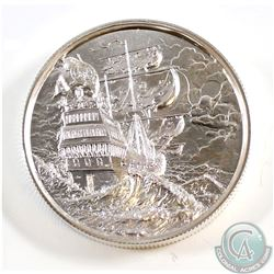 The Privateer Collection - The Storm 2 oz. Ultra High Relief Silver Round (#1). Tax Exempt