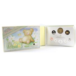 RCM Issue: 2006 Canada Baby Sterling Silver Proof Set with Medallion and Loon (the 5-cent is lightly