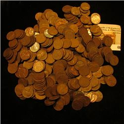 (400) Unsearched U.S. Wheat Back Cents.