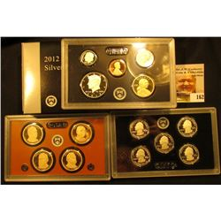 2012 S Silver U.S. Proof Set, original as issued.