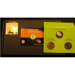 """2014 P, D, & S United States Mint """"Coin Discovery Set"""", includes magnifying glass, gloves, tubes, an"""