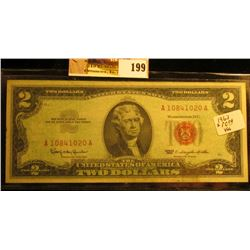 """Series 1963 Two Dollar United States Note """"Red Seal"""""""