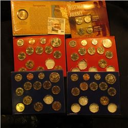 (2) Partial U.S. Mint Sets in original holders containing coins from 2013 & 2015, all Gem BU. (face