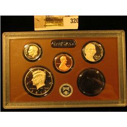 2013 S Four-piece U.S. Proof Coin Set in original hard plastic case. Includes Proof Cent, Nickel, Di