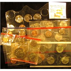 Several partial U.S. Mint Sets in original Mint cellophane. (total face value $9.31).
